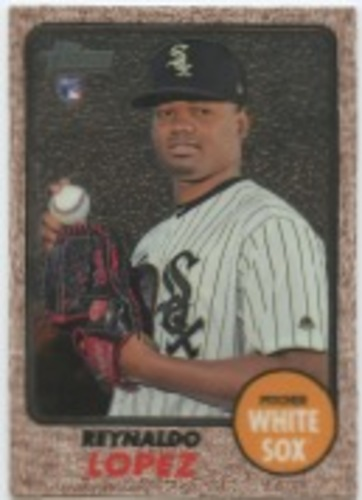 Photo of 2017 Topps Heritage Chrome #THC529 Reynaldo Lopez