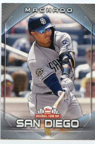 Photo of 2020 Topps National Baseball Card Day #23 Manny Machado