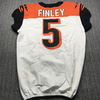Crucial Catch - Bengals Ryan Finley Game Used Jersey (10/13/19) Size 42