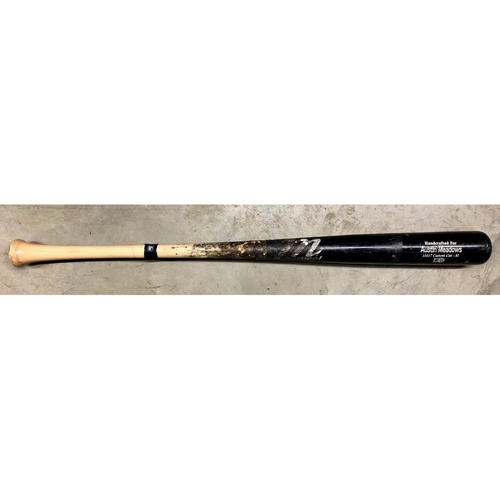 Photo of Spring Training Game Used Broken Bat: Austin Meadows - Bottom 1 - February 28, 2021 v ATL