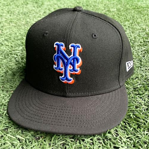 Photo of Taijuan Walker #99 - Game Used Black Hat - 5 IP, 2 ER, 3 K's - Mets vs. Phillies - 9/17/21