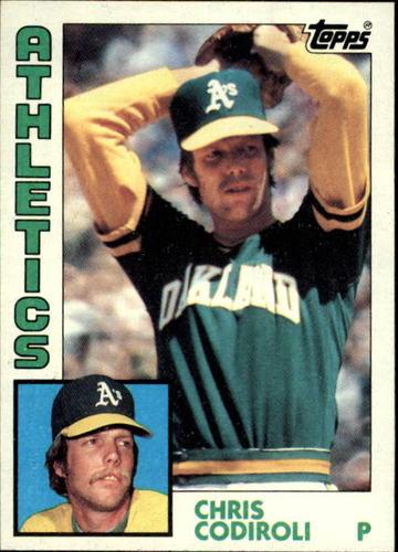 Photo of 1984 Topps #61 Chris Codiroli