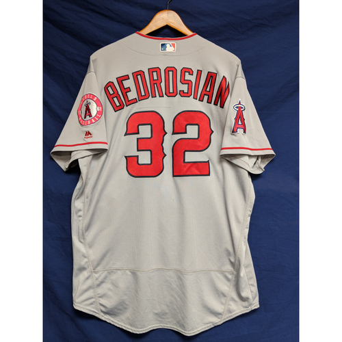 Photo of Cam Bedrosian Game-Used Road Jersey