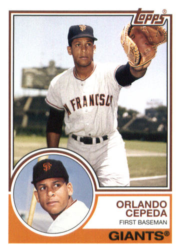Photo of 2015 Topps Archives #214 Orlando Cepeda