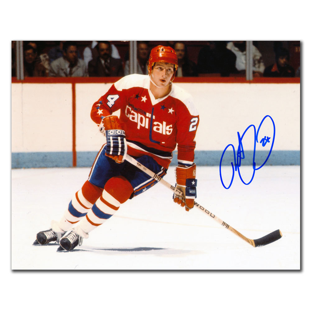 Robert Picard Washington Capitals RUSH Autographed 8x10