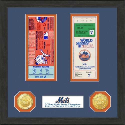 Photo of New York Mets World Series Ticket Collection