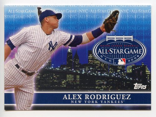 Photo of 2008 Topps All-Star FanFest #3 Alex Rodriguez