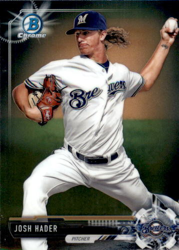 Photo of 2017 Bowman Chrome Prospects #BCP106 Josh Hader