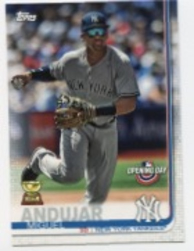 Photo of 2019 Topps Opening Day #144 Miguel Andujar