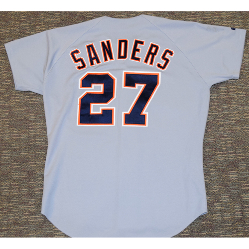 Photo of Scott Sanders Detroit Tigers #27 Road Jersey (NOT MLB AUTHENTICATED)