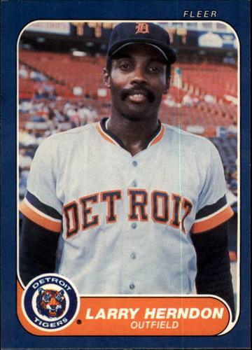 Photo of 1986 Fleer #229 Larry Herndon