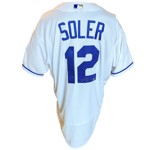 Photo of Autographed Nike Jersey: Jorge Soler