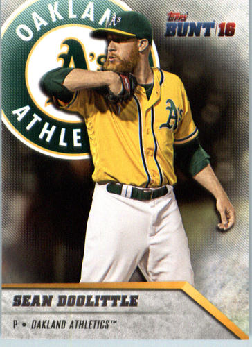 Photo of 2016 Topps Bunt #42 Sean Doolittle