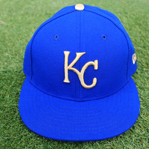 Photo of Game-Used Cap: Erick Mejia (Size 7 - MIN @ KC - 9/27/19)