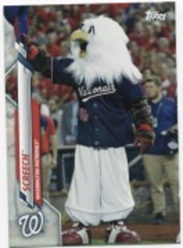 Photo of 2020 Topps Opening Day Mascots #M14 Screech