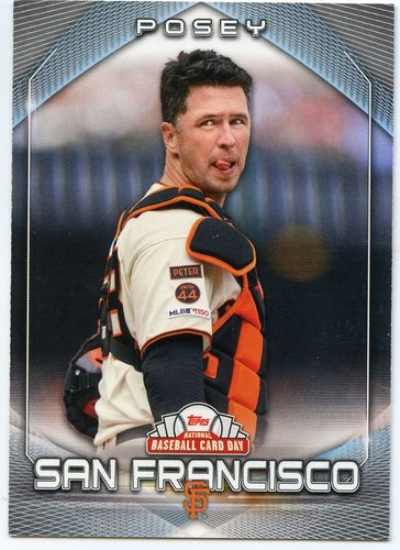 Photo of 2020 Topps National Baseball Card Day #24 Buster Posey