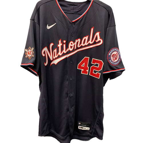 Photo of Max Scherzer - Jackie Robinson Day Game Used Jersey