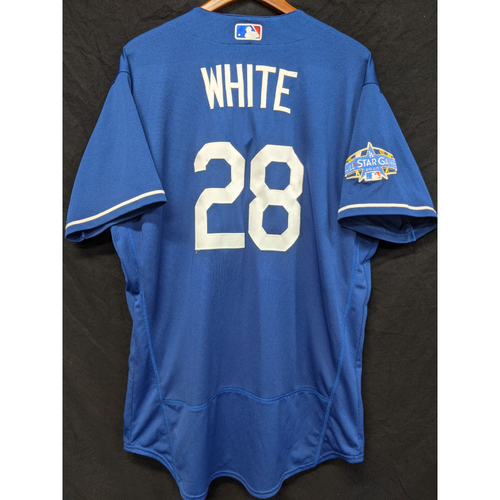 Photo of Tyler White Team-Issued 2020 Spring Training Jersey with 2020 All Star Patch