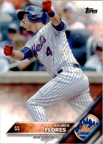 Photo of 2016 Topps #86A Wilmer Flores