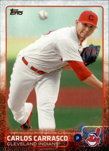 Photo of 2015 Topps #630 Carlos Carrasco