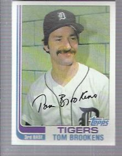 Photo of 1982 Topps #753 Tom Brookens