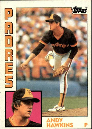 Photo of 1984 Topps #778 Andy Hawkins