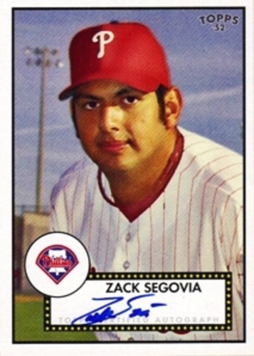 Photo of 2007 Topps 52 Signatures #ZS Zack Segovia E