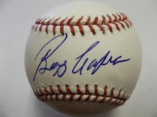 Photo of Buzz Capra Autographed Baseball