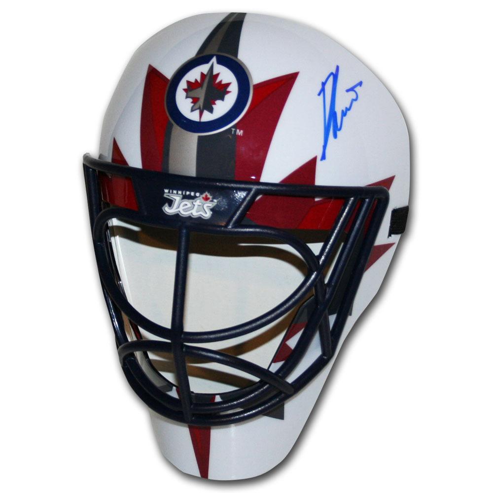 Ondrej Pavelec Autographed Winnipeg Jets Fan Mask