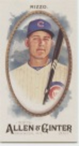 Photo of 2017 Topps Allen and Ginter Mini #44 Anthony Rizzo
