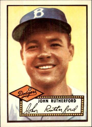 Photo of 1983 Topps 1952 Reprint #320 John Rutherford