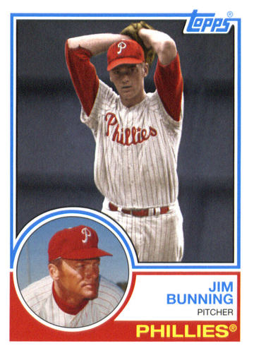 Photo of 2015 Topps Archives #218 Jim Bunning
