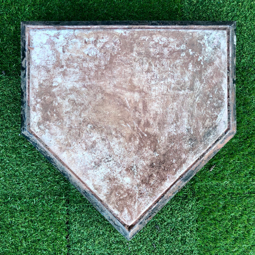 Photo of 2018 Game-Used Home Plate