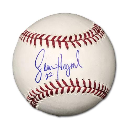 Photo of Jason Heyward Autographed Baseball