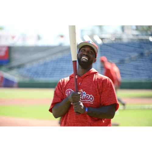 Photo of Feed the Giraffes with Phillies All-Star Outfielder Andrew McCutchen at the Philadelphia Zoo