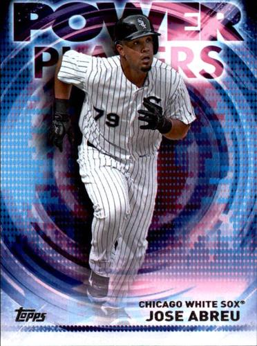 Photo of 2014 Topps Update Power Players #PPAJA Jose Abreu