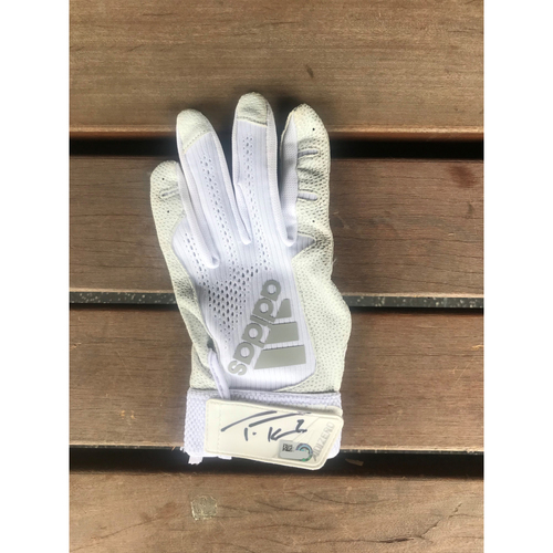Photo of Autographed Trea Turner Left Batting Glove