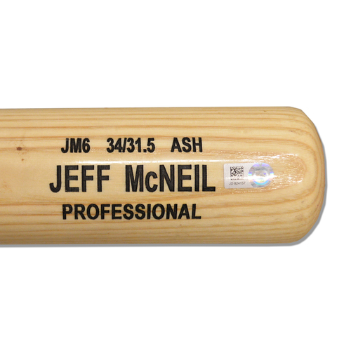 Photo of Jeff McNeil #6 - Game Used Cracked Bat - Mets vs. Rockies - 6/7/2019