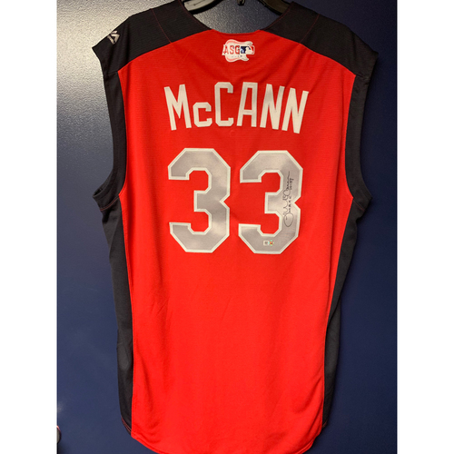 James McCann 2019 Major League Baseball Workout Day Autographed Jersey