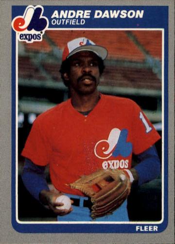 Photo of 1985 Fleer #394 Andre Dawson