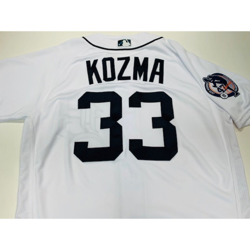 Photo of Team-Issued Jack Morris Number Retirement Day jersey: Pete Kozma