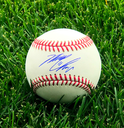 Photo of Michael Chavis Autographed Baseball