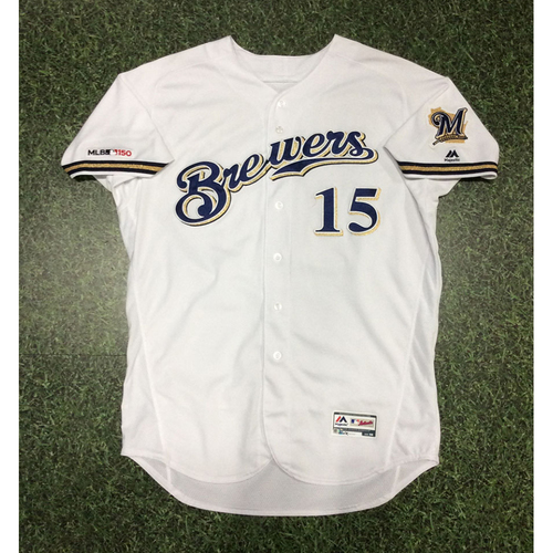 Photo of Drew Pomeranz 2019 Game-Used Home White Jersey