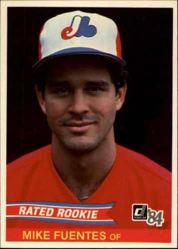 Photo of 1984 Donruss #40 Mike Fuentes RC