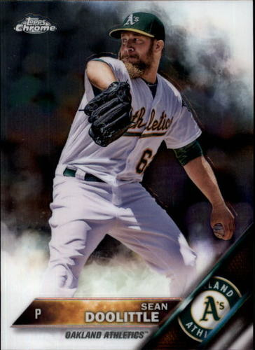 Photo of 2016 Topps Chrome #112 Sean Doolittle