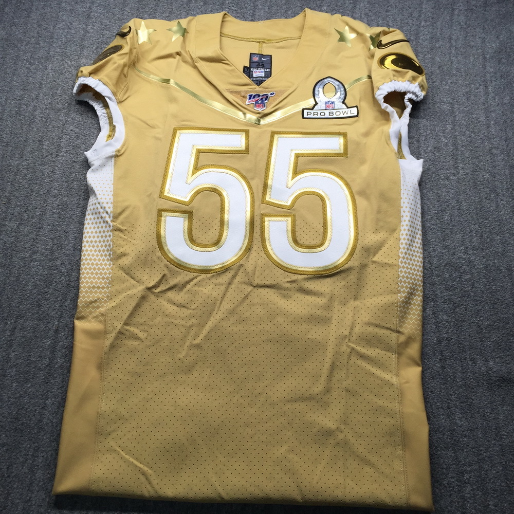 NFL Auction | NFL - Packers Za'Darius Smith Game Issued Pro Bowl ...