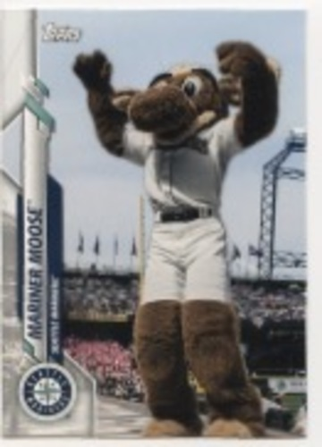 Photo of 2020 Topps Opening Day Mascots #M16 Mariner Moose