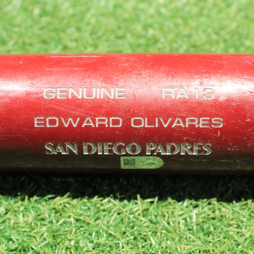 Photo of Game-Used Broken Bat: Edward Olivares (CWS @ KC 9/3/20)
