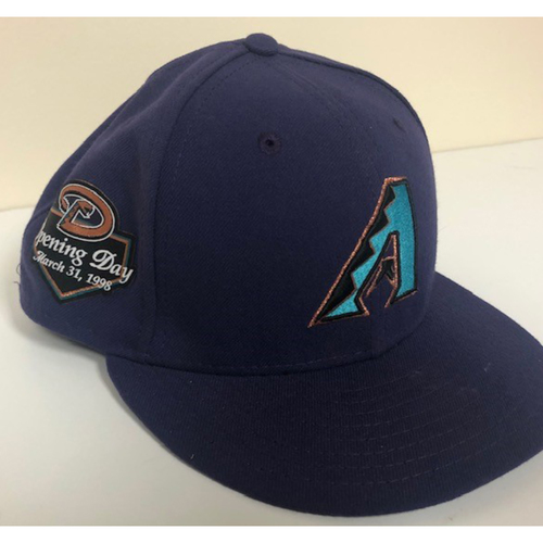 Photo of 2018 Team Issued Throwback Purple Cap - Size 7 1/8
