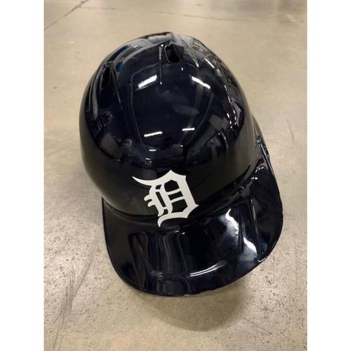 Photo of 2021 MLB Draft Used Helmet: Detroit Tigers